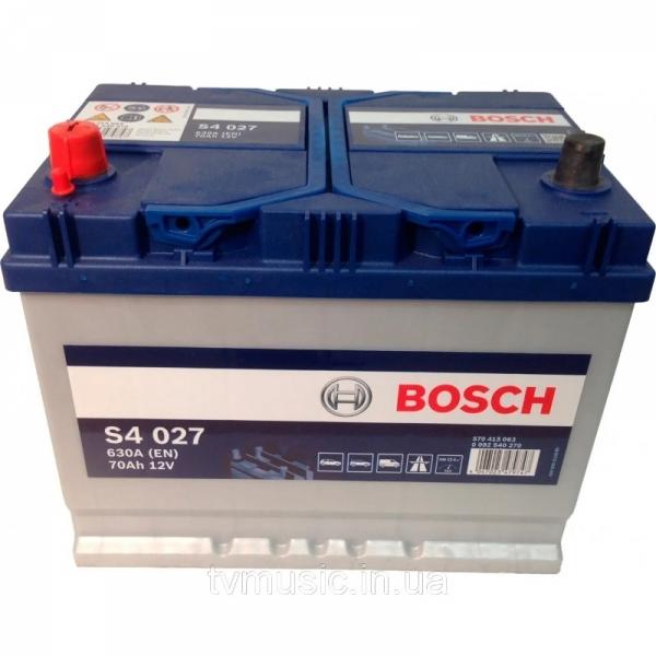 Аккумулятор Bosch 70 Ah S4 027
