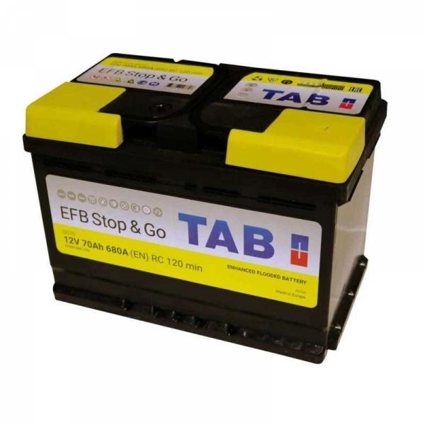 Аккумулятор Tab EFB Start Stop 70 Ah (0)
