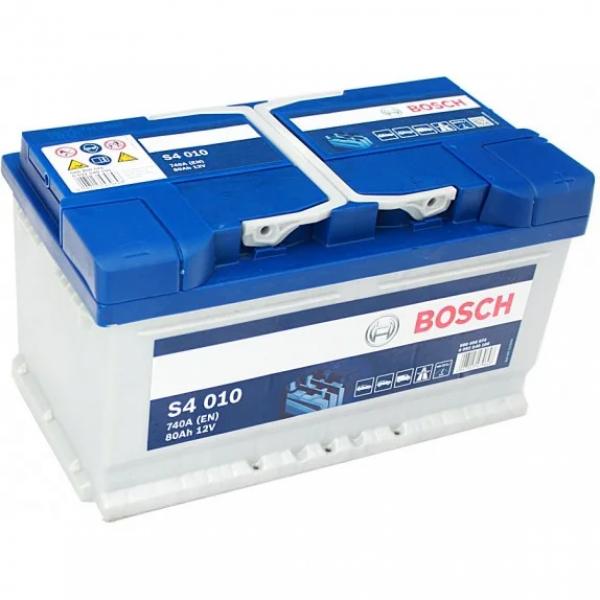 Аккумулятор Bosch 80 Ah S4 010