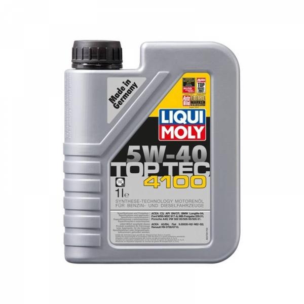 Моторное масло Liqui Moly Top Tec 4100 5W-40 (1л)