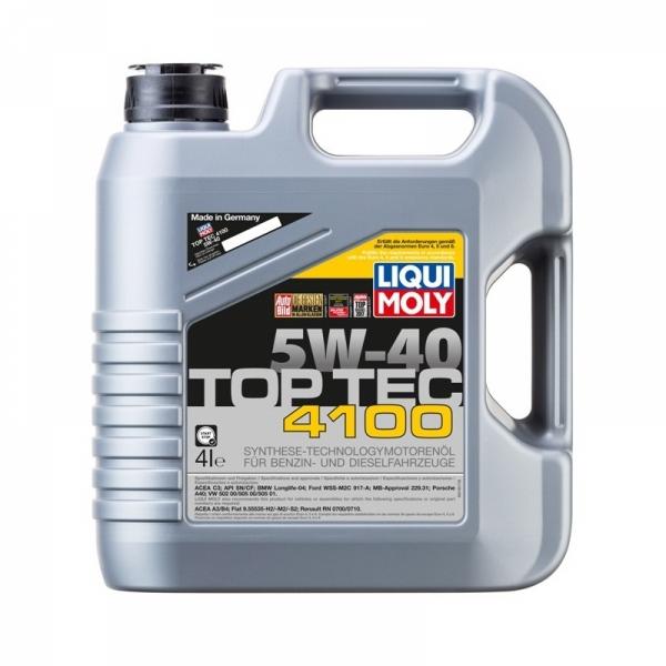 Моторное масло Liqui Moly Top Tec 4100 5W-40 (4л)