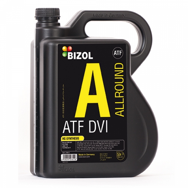 Трансмиссионное масло BIZOL Allround ATF D-VI (5л)