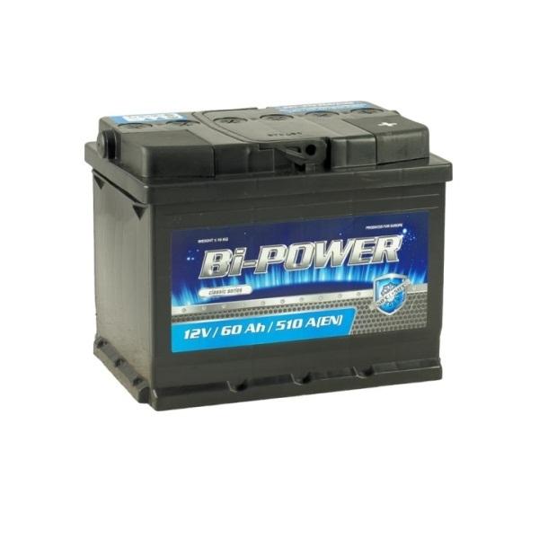 Аккумулятор Bi-Power 60 Ah (R)