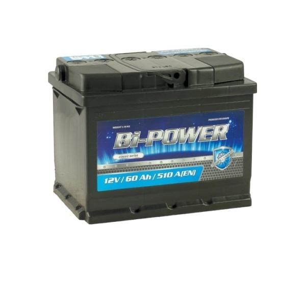 Аккумулятор Bi-Power 60 Ah (L)
