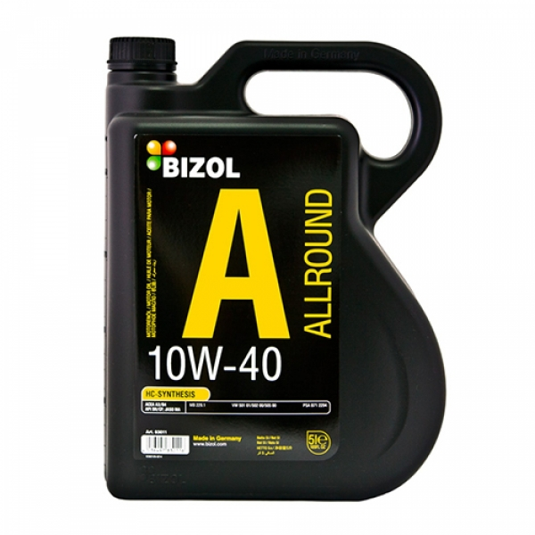 Моторное масло BIZOL Allround 10W-40 (5л)