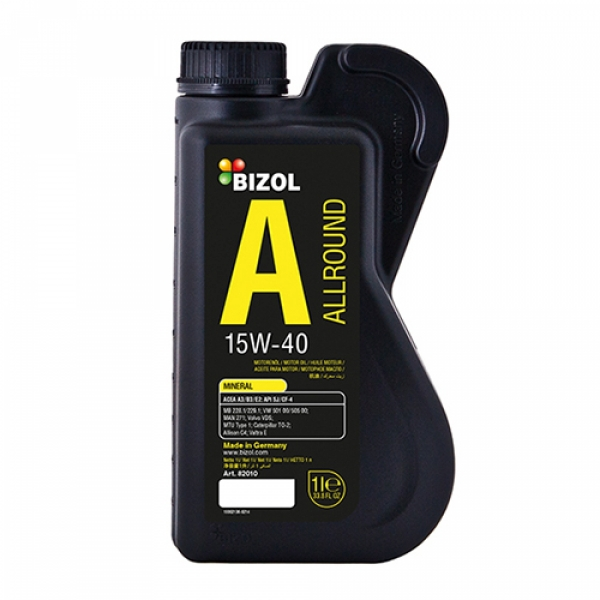 Моторное масло BIZOL Allround 15W-40 (1л)