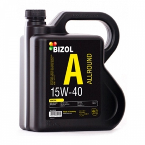 Моторное масло BIZOL Allround 15W-40 (4л)