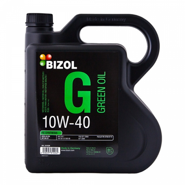 Моторное масло BIZOL Green Oil 10W-40 (4л)