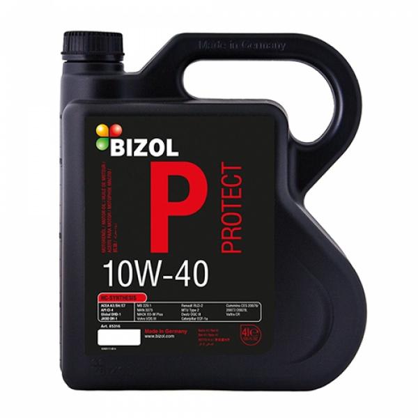 Моторное масло BIZOL Protect 10W-40 (4л)