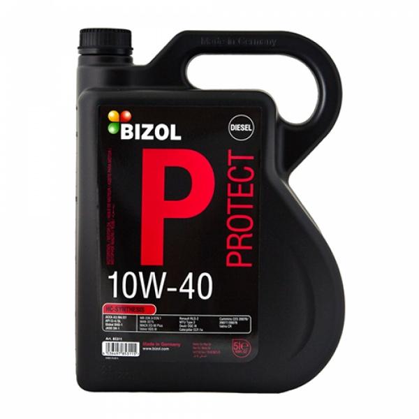 Моторное масло BIZOL Protect 10W-40 (5л)