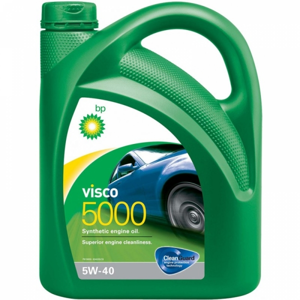 Моторное масло BP Visco 5000 5W-40 4л