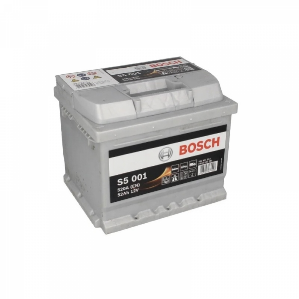 Аккумулятор Bosch 52Ah S5 001