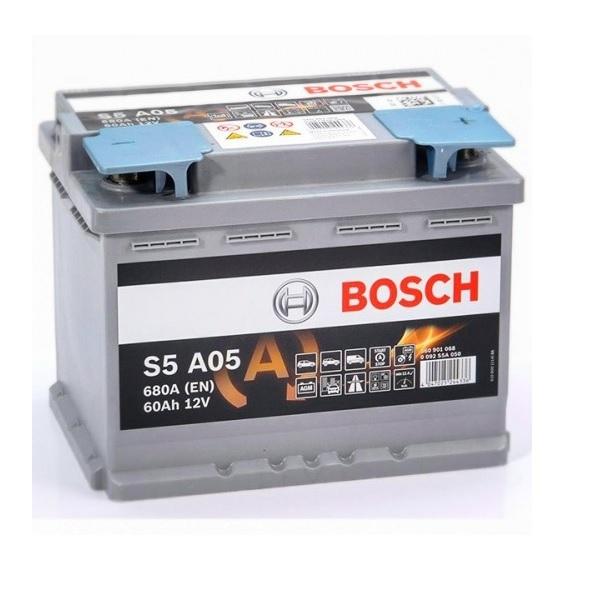 Аккумулятор Bosch 60Ah S5 A05 AGM Start Stop
