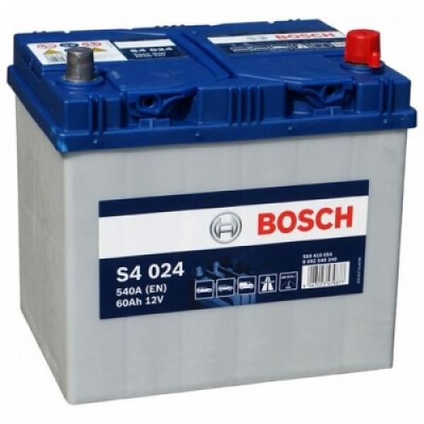 Аккумулятор Bosch 60Аh S4 024