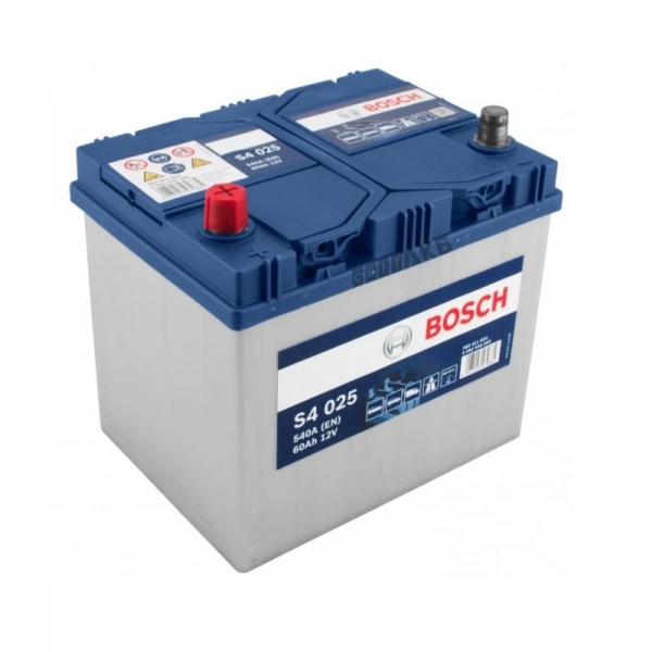 Аккумулятор Bosch 60Аh S4 025