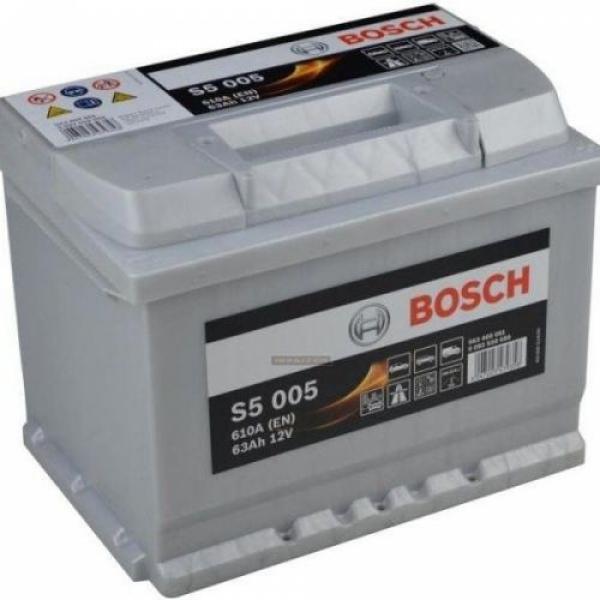 Аккумулятор Bosch 63Аh S5 005