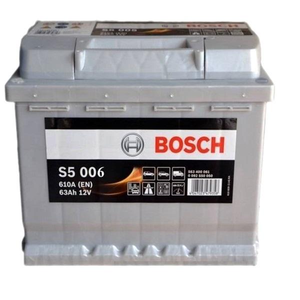 Аккумулятор Bosch 63Аh S5 006