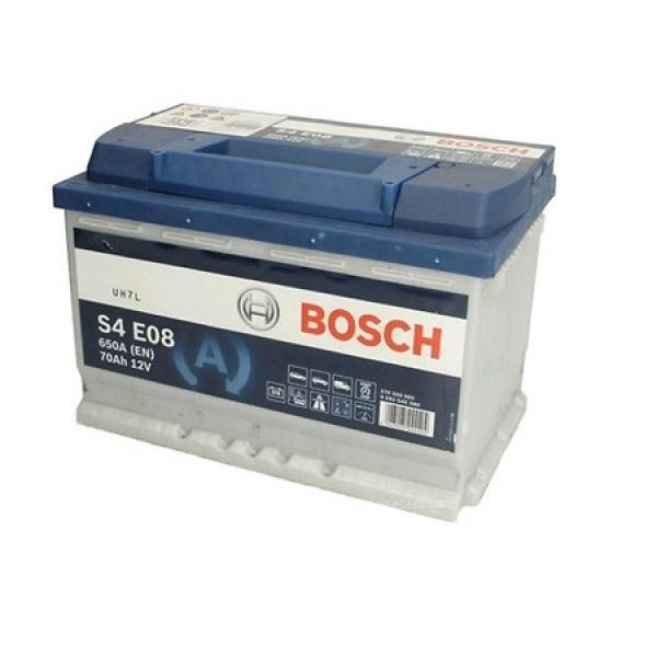 Аккумулятор Bosch 70Ah S4 E08 EFB Start Stop