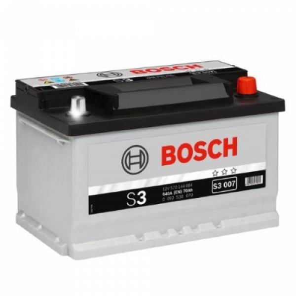 Аккумулятор Bosch 70 Ah S3 007