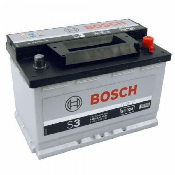 Аккумулятор Bosch 70 Ah S3 008