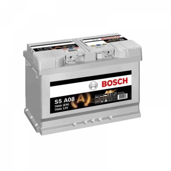 Аккумулятор Bosch 70 Ah S5 A08 AGM Start Stop