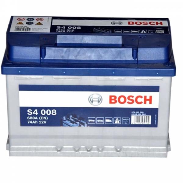 Аккумулятор Bosch 74Аh S4 008
