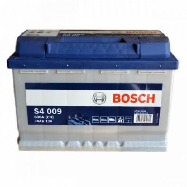 Аккумулятор Bosch 74Аh S4 009