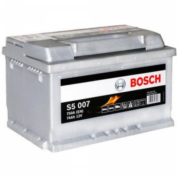 Аккумулятор Bosch 74Аh S5 007
