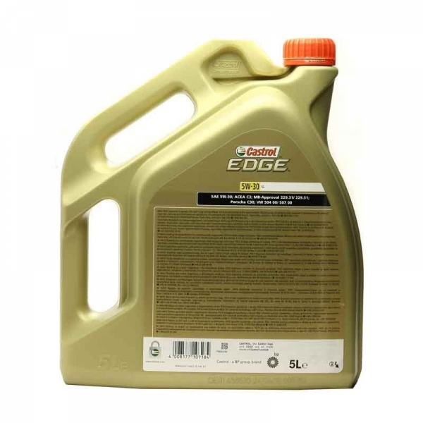 Моторное масло Castrol Edge 5W-30 LL 5л
