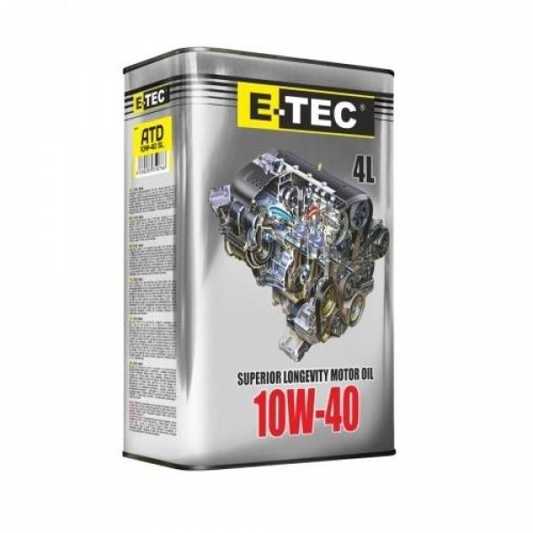 Моторное масло E-Tec ATD 10W-40 4л