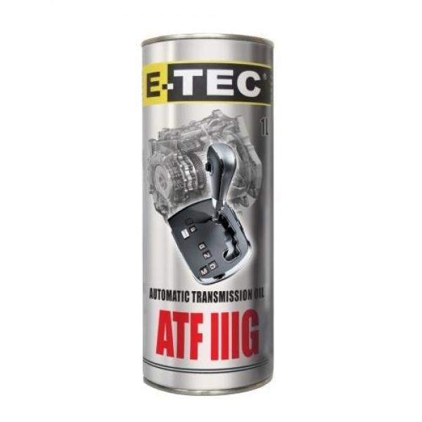 Масло трансмиссионное E-Tec ATF IIIG 1л