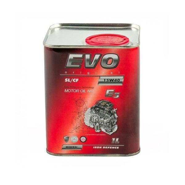 Моторное масло Evo E3 15W-40 SL/CF 1л
