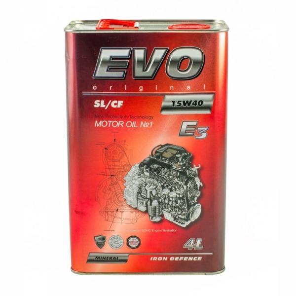 Моторное масло Evo E3 15W-40 SL/CF 4л