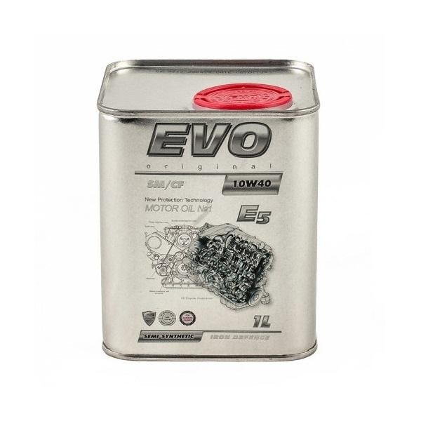 Моторное масло Evo E5 10W-40 SM/CF 1л