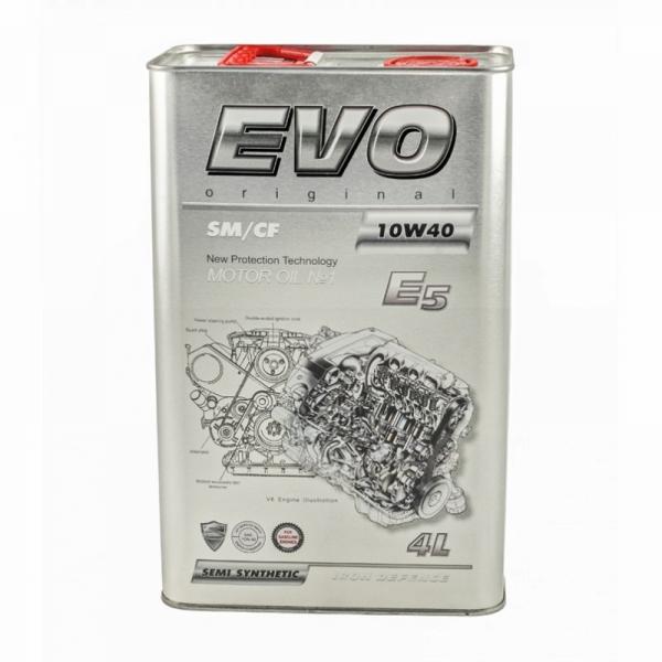 Моторное масло Evo E5 10W-40 SM/CF 4л
