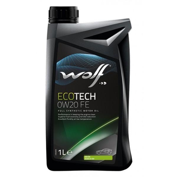Моторное масло Wolf Ecotech 0W-20 D1 FE 1л