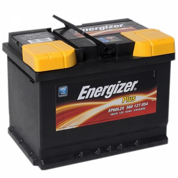 Аккумулятор Energizer Plus 60 Ah (L)