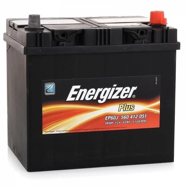 Аккумулятор Energizer Plus 60 Ah (R1)