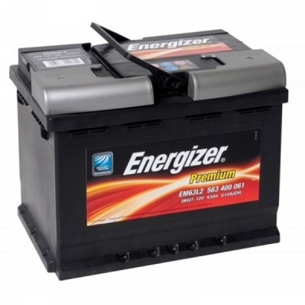Аккумулятор Energizer Premium 63 Ah (R)