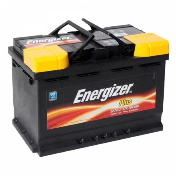Аккумулятор Energizer Plus 74 Ah (R)