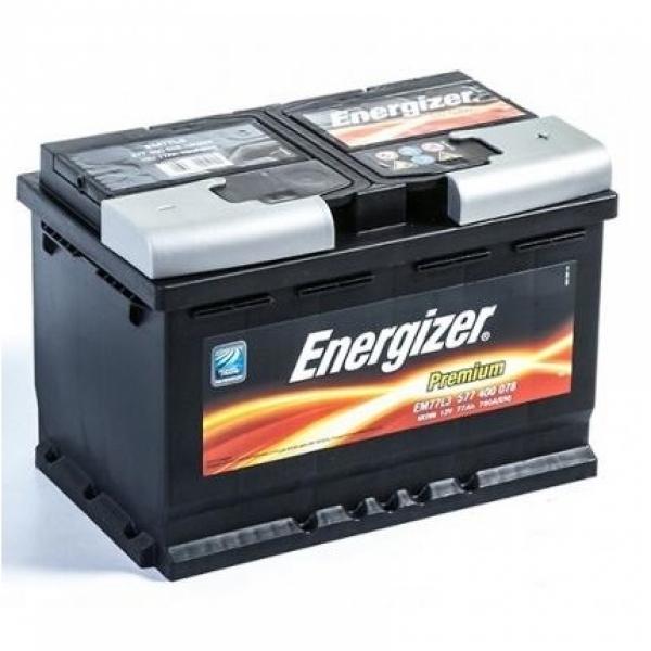 Аккумулятор Energizer Premium 77 Ah (R)