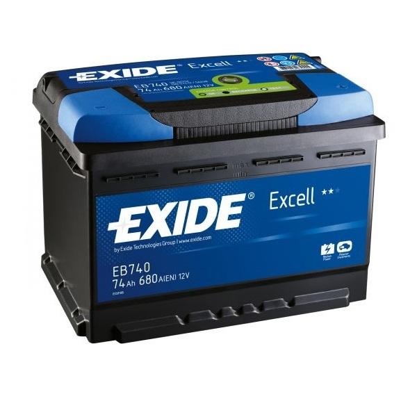 Аккумулятор Exide Excell 74 Ah (R)