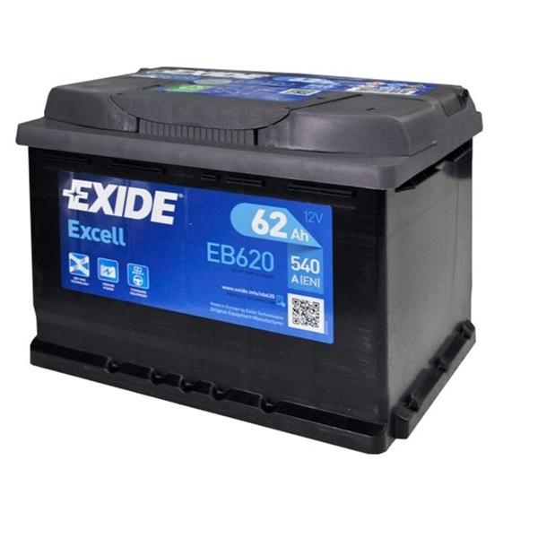 Аккумулятор Exide Excell 62 Ah