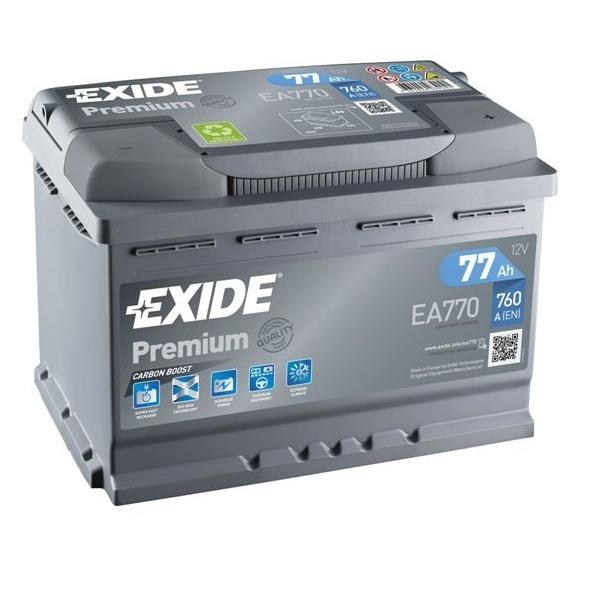 Аккумулятор Exide Premium 77 Ah (R)