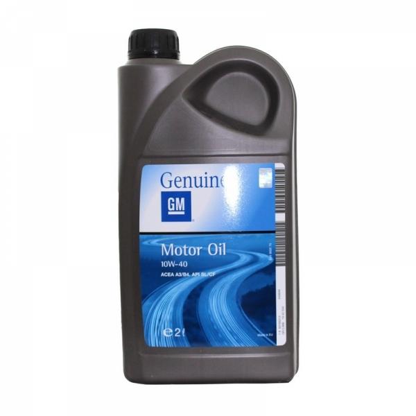 Моторное масло General Motors 10W-40 2л