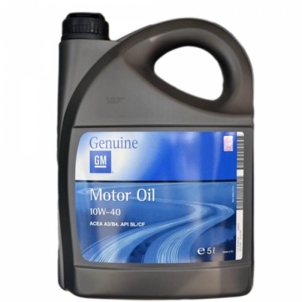 Моторное масло General Motors 10W-40 5л