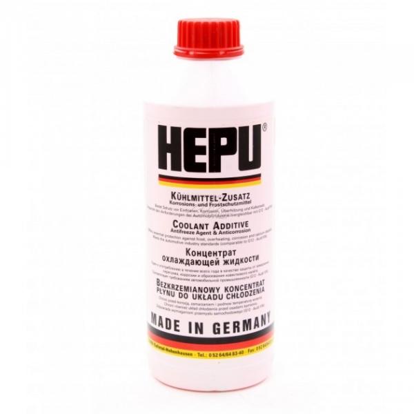 Антифриз HEPU G12 красный концентрат P999-G12 1.5л