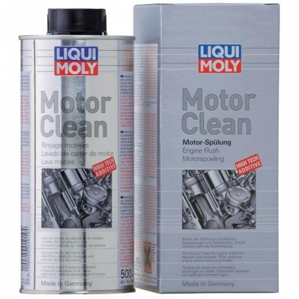 Промывка масляной системы двигателя Liqui Moly MotorClean 0.5л