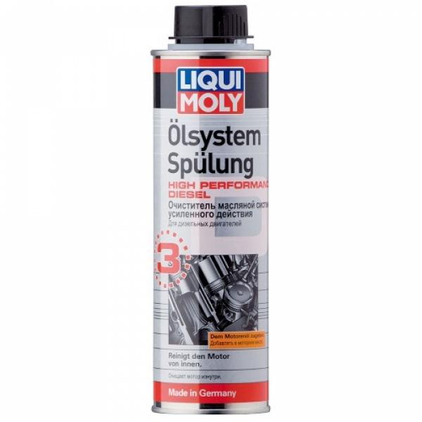 Очиститель масляной системы усиленного действия Liqui Moly Oilsystem Spulung High Performance Diesel 0.3л