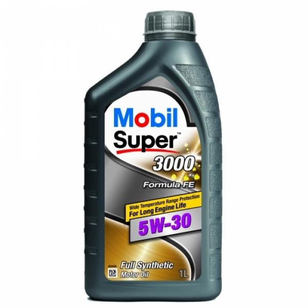 Моторное масло Mobil Super 3000 F-FE 5W-30 1л